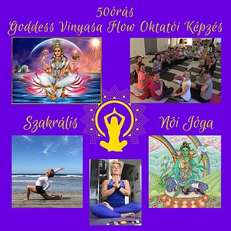 50 oras goddess vinyasa flow kepzes 1