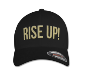 RISE UP CAP Black