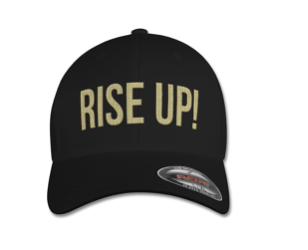 RISE UP CAP Black