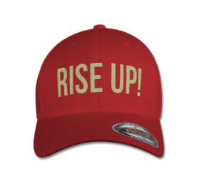 RISE UP CAP Red