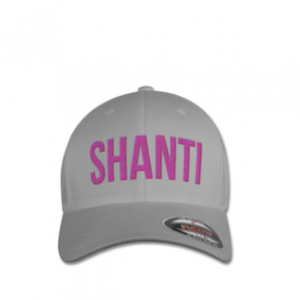 SHANTI CAP Silver Pink caracters