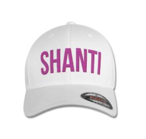 SHANTI CAP White Pink caracters