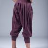 goddess spirit harem pants burgundy 1
