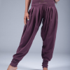 goddess spirit harem pants burgundy 3
