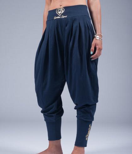 goddess spirit harem pants dark blue 1