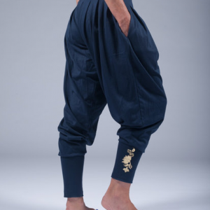 goddess spirit harem pants dark blue 2