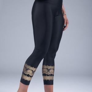 goddess spirit leggings black