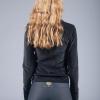 goddess spirit velours sweater black 2