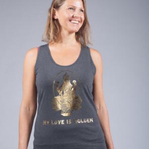 my love is golden tanktop 1
